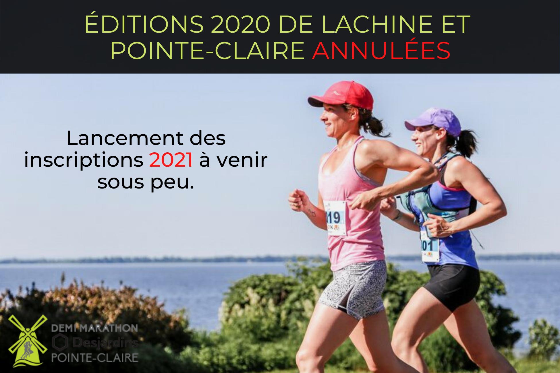 DEMI-MARATHON DE POINTE-CLAIRE 2020 - FR - ANNULE/NEXT YEAR